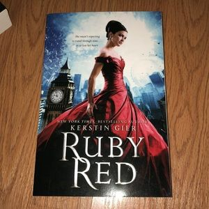 Square Fish Accents - Ruby Red trilogy books